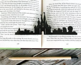 Disney Castle- Hand-cut Silhouette Bookmark, Disney World Inspired, Disney Bookmark, Disney Princess, Papercut