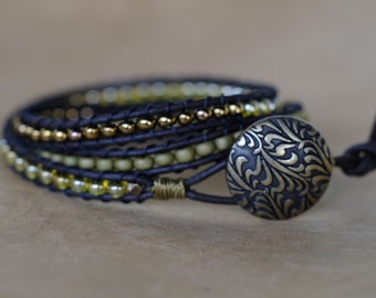 Walk in the Forest 3 Wrap Bracelet