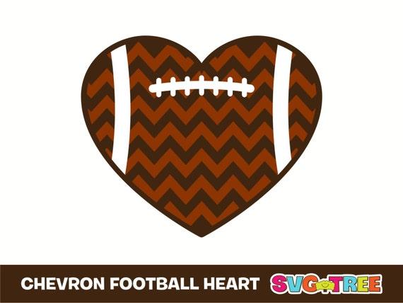 football heart clipart - photo #22
