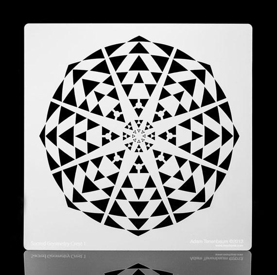 Sacred Geometry Stencils Sacred Geometry Kaleidoscope