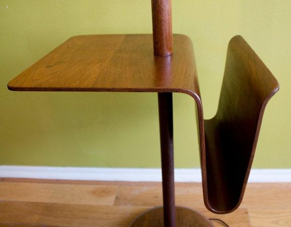 Reserved Mid Century Modern Laurel Bentwood Walnut Floor