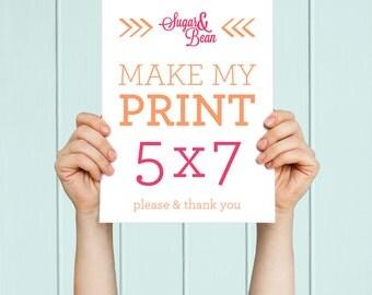 Art Print - 5 x 7 Customizable Art Print - 5 x 7 Poster