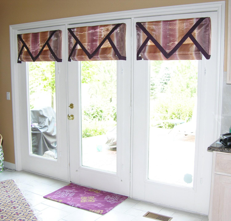 Custom Window Treatments TRIANGULAR VALANCE Made To Order
