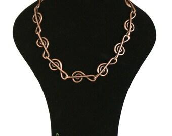treble clef necklace. clef necklace. musician necklace, clave de sol