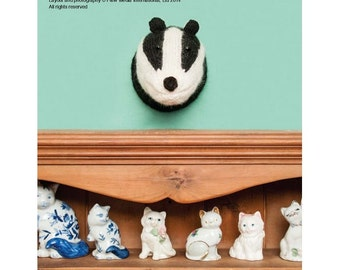 Badger Head Knitting Pattern Download (803730)