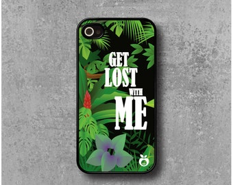 Case iPhone 4 / 4s Exotic Jungle + Free Worldwide Shipping