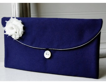 navy blue satin bridesmaid gift clutch set of 12 black satin purse grey satin clutch blue favor bag holiday stocking stuffer pouch cosmetic