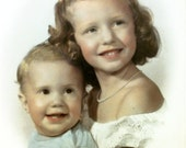 3 Portrait Photos, Kids, Photo Collection, Pastel Tinted Photos, Photos of Children, Children Portraits, Baby Photos, Instant Collection