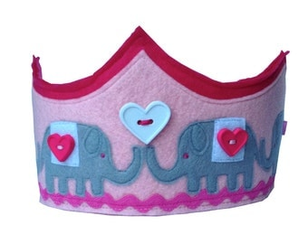 The Elephant Parade Crown - Pink Version