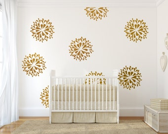 Popular Items For Gold Wall Decals On Etsy
