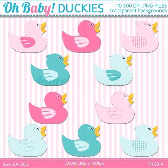 Baby Shower Border Clip Art Ducks