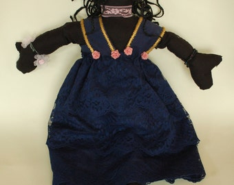 Black Cloth Doll