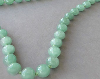 Rare Vintage Chinese Jade Necklace