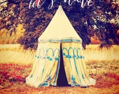 Magical Adventure Photo, Fantasy Decor, Inspirational Quote, Wall Art, Boho, Gypsy Photography, Typography, Text, Type, Tent, Fairy, Fair - StudioYuki