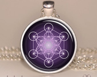 Popular items for metatron cube on etsy for Metatron s cube jewelry