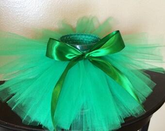 St Pattys Day Tutu, St Patricks Outfit, Green Tutu, Tinkerbell Tutu, Hawaiian Tutu, Baby Tutu, Newborn Tutu, Infant Tutu, Toddler Tutu