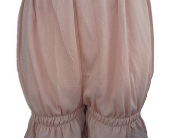 L2CBW BROWN Bloomers Handmade Half Slips Pettipants Plus Size COTTON  Women Ladies Shorts