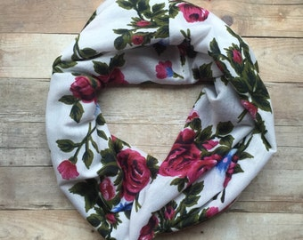 Baby/Toddler Floral Infinity Scarf