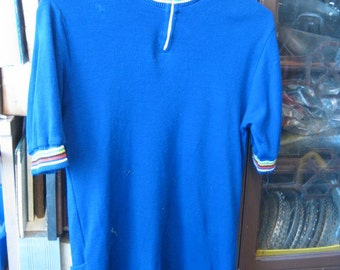 Vintage wool cycling jersey. Adult Medium. Used in great shape!