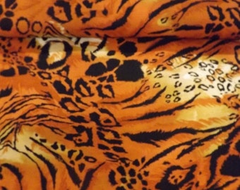 Fabri Quilt Mixed Skins Orange Quilters Cotton Fabric BTY