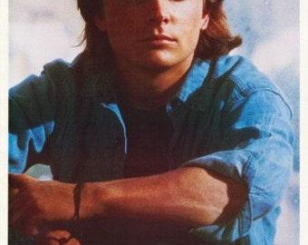 Michael J. Fox Light Of Day 1987  Rare Vintage Poster