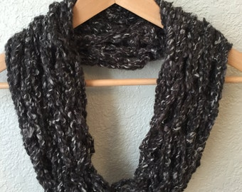 Arm Knit Scarf, Winter Scarf, Inifinity Scarf