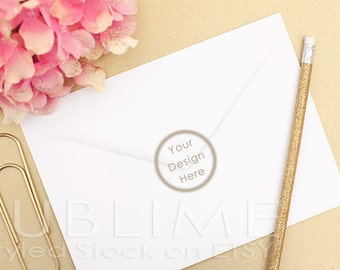 Styled Stock Photography / Blank Envelope / Mock up / Card Design / Card Mock up / Styled Envelope / JPEG Digital Image / StockStyle-348