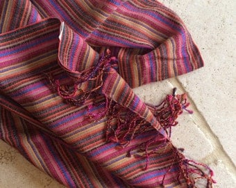 Versitile Multicoloured Scarf/Wrap