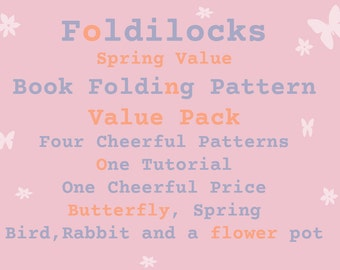 Value Spring Pattern Pack **Patterns**   PDF Book Folding Origami Free Instructions free instructions/ tutorial