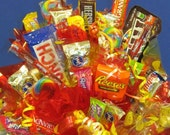 Candy Bouquet Smiley Medium - Free Nationwide Shipping and Free Local Delivery!