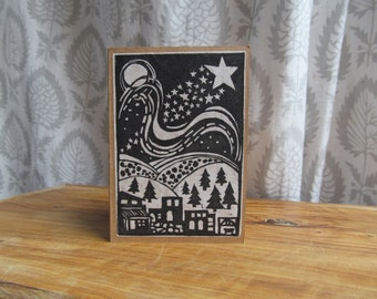 Popular Items For Lino Print On Etsy