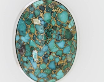 925 Turquoise Pendant ( 33.06 cts)