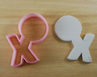 Valentine's Day XOXO Cookie Cutter, Mini and Standard Sizes, 3D Printed