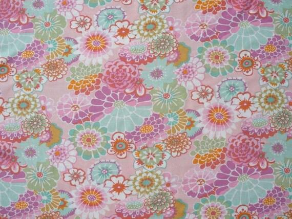 Items similar to Kaffe Fassett Rayon Challis Fabric ...