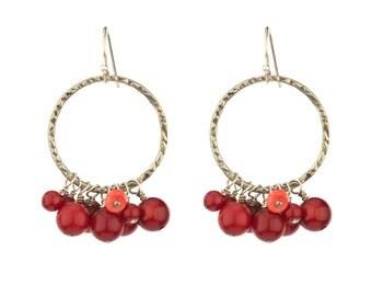 Playful Calypso earrings