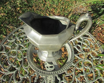 Silver Plated REED & BARTON creamer gorgeous patina