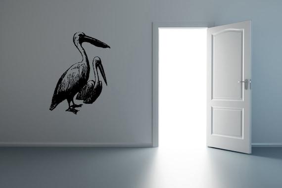 Pelican Bird Wall Sticker Decal Beach House D Cor By