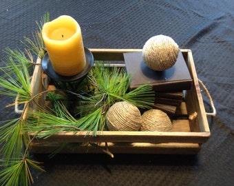 Decorative hemp balls