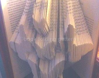Flutterby book folding pattern