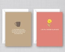 Gilmore Girls Cards 6 Pack   Funny Gilmore Girls Cards