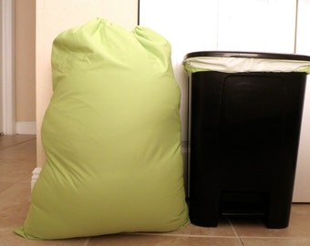 Matching Combo Set Wet Bag & Pail Liner Pul Bag Pair