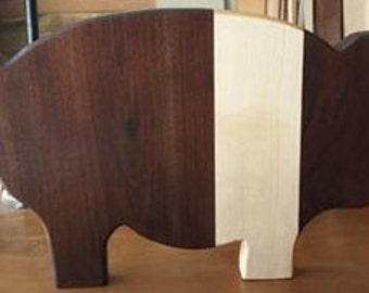 Hampshire Pig Cutting Board