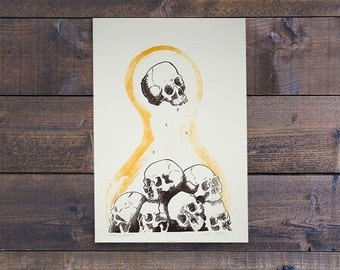 Valley of Dry Bones - Lithograph