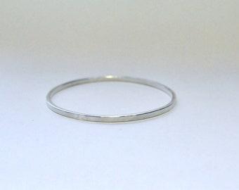 Silver bracelet, rectangular