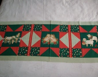 Springmaid half yard ,quilt, pillows, vintage fabric Christmas pillow,quilt