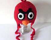 Funny crochet cap for kids or adults. Free shipping.