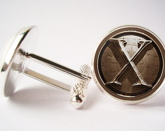 X-Men Cufflinks (silver/bronze)