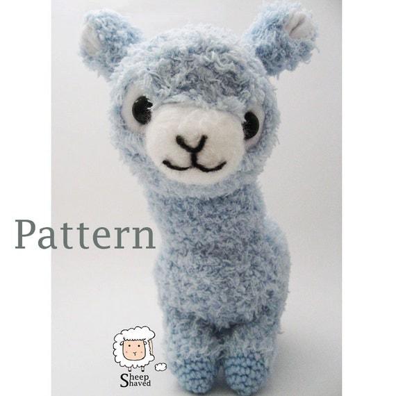Crochet Alpaca Amigurumi Pattern PDF format