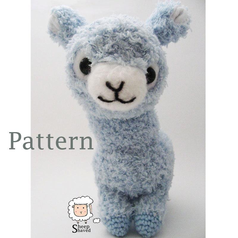 Alpaca Amigurumi Crochet Patterns : Crochet Alpaca Amigurumi Pattern PDF format