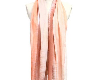 Womens Scarf, Brown Scarf, Pink Scarf, Floral Scarf, Fashion Scarf, Chiffon Scarf, Cotton Scarf